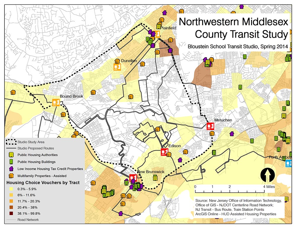 Northwestern Middlesex County Transit Study
