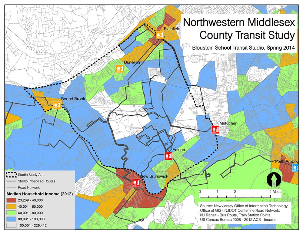 Northwestern Middlesex County Transit Study | Christopher